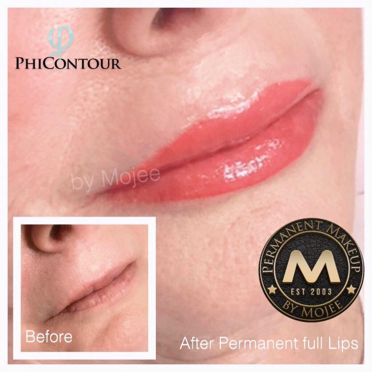 Semi-Permanent Lip Tattoo